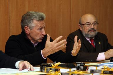 José González Presidente de la Asociación La Dársena