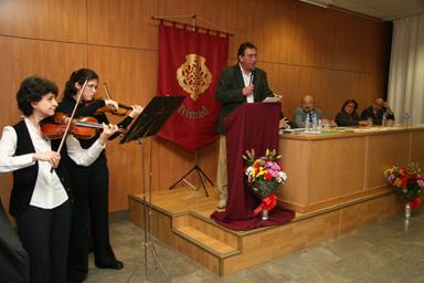 CLAUSURA de los CERTÁMENES PACO GANDÍA 2007-2009